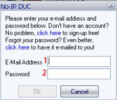 Как сделать статистический ip на no-ip 860